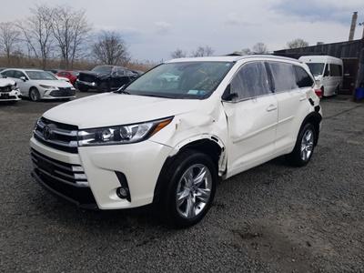 2019 Toyota Highlander Limited (V6, 3.5L)