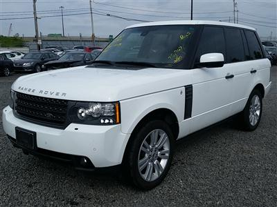 2011 Land Rover Range Rover HSE w/Luxury Pack (V8, 5.0L)