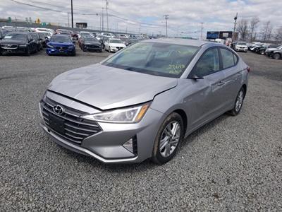 2020 Hyundai Elantra (L4, 2.0L; DOHC 16V; V