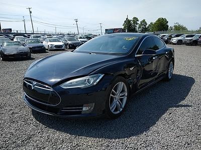 2013 Tesla Model S Performance (Electric Motor; 10 kW; AC Mot