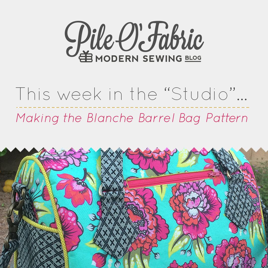 Blanche Barrel Bag // \
