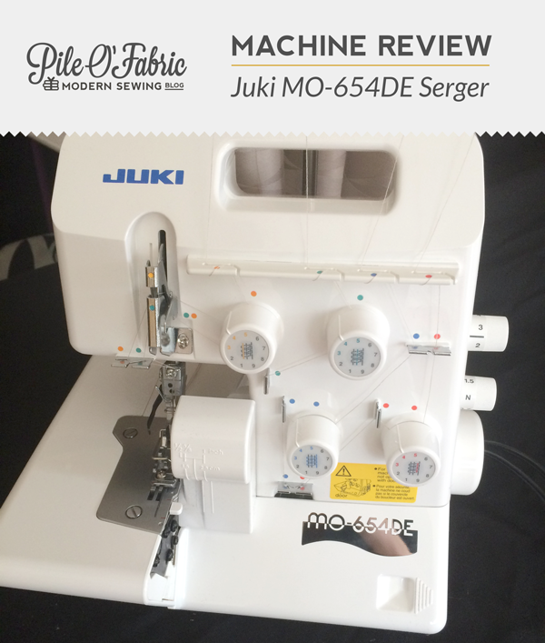 Juki MO40DE OverlockSerger Machine Review Pile O' Fabric Fascinating Juki Sewing Machine Reviews