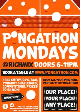Pongathon Mondays
