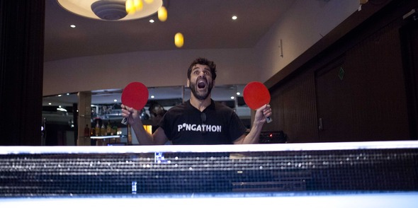 'Ping Pongness' at Prince of Wales!