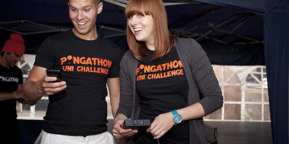 Pongathon rockin all over the world!