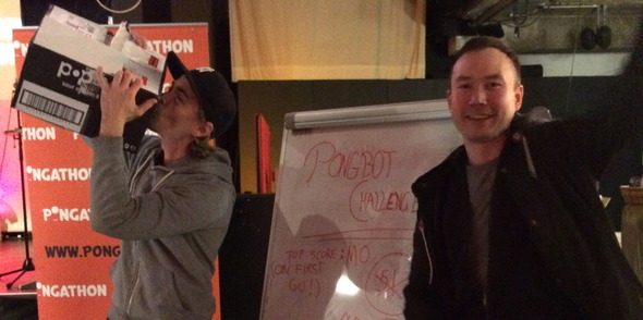 Pongathon are back for 2015!