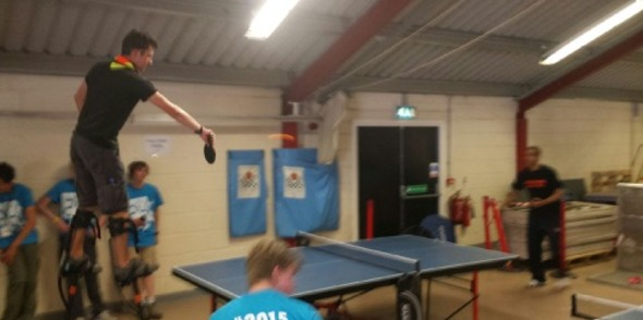Pongathon takes ping pong to new heights!