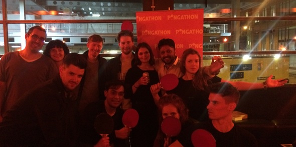 Pongathon was fired up again as Queen of Hoxton 'Serves You Right'!