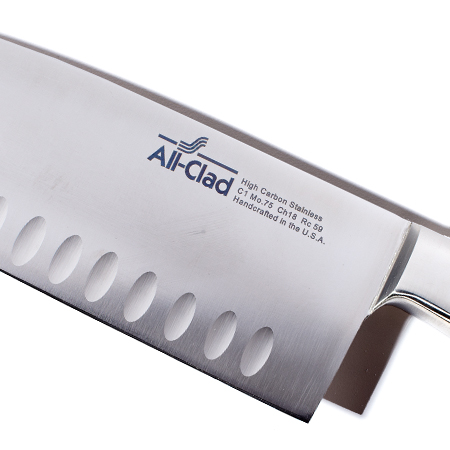 Check out this Santoku Knife made in Canonsburg, PA by All-Clad. Purchase to support 300 American workers. Gets you 1,960 Boom™ Points.