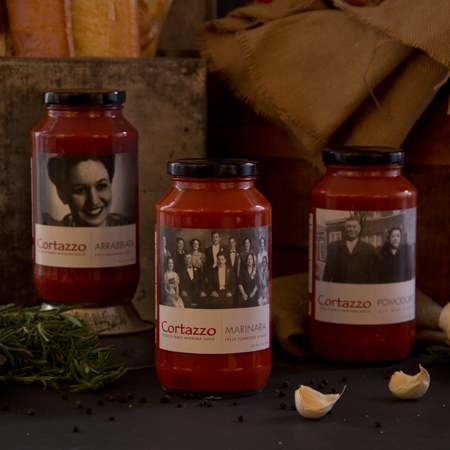 Check out this Tomato Sauce Variety 3Pk made in Lancaster, PA by Cortazzo Foods. Purchase to support 2 American workers. Gets you 378 Boom™ Points.