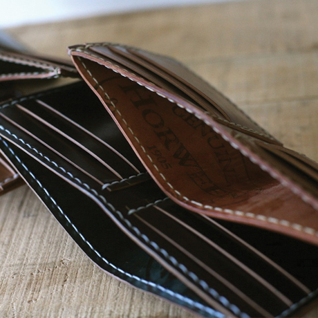 Check out this Cordovan Wallet made in Boston, MA by Corter Leather. Purchase to support American workers. Gets you 4,046 Boom™ Points.