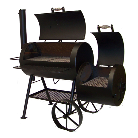out this classic backyard smoker made in perry ok by horizon smoker