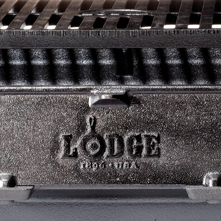Check out this Hibachi Sportsman Grill made in South Pittsburg, TN by Lodge Manufacturing Co. Purchase to support 225 American workers. Gets you 2,030 Boom™ Points.