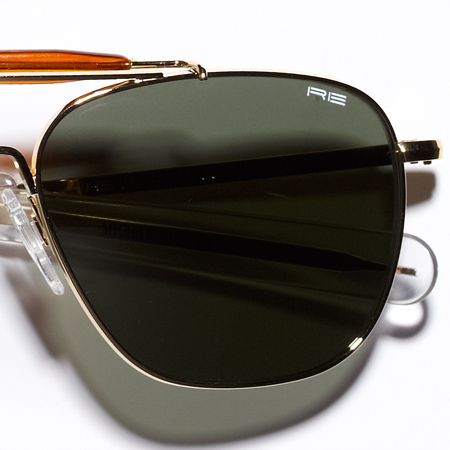 Check out these Aviators made in Randolph, MA by Randolph Engineering. Purchase to support 55 American workers. Gets you 3,430 Boom™ Points.