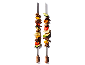 Barbecue Skewers Three 2Pks