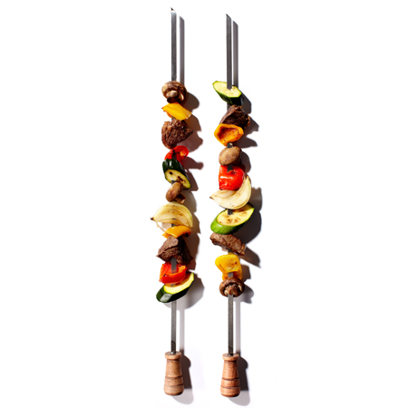 Check out these Barbecue Skewers made in Salem, OR by Super Skewer. Purchase to support 2 American workers. Gets you 980 Boom™ Points.