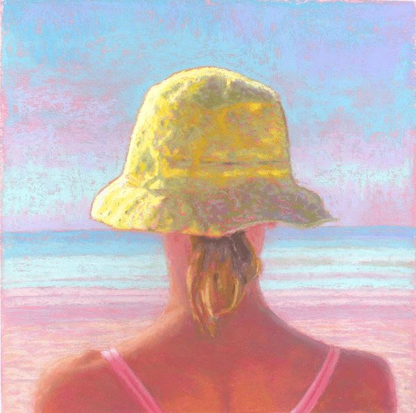 Ebb and Flow of Tidal Rhythms Original Watercolor Painting