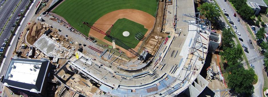 Sewell-Thomas Stadium at the University of Alabama