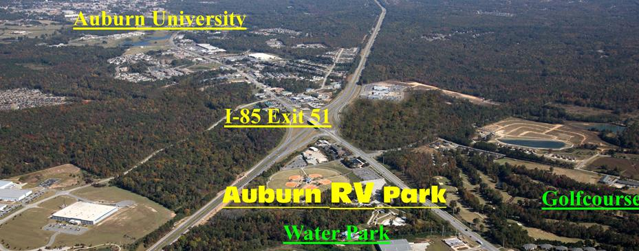Auburn RV at Leisuretime Campground