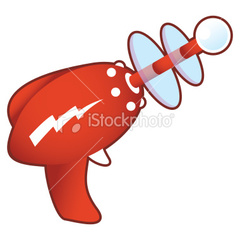 Stock-illustration-10294800-retro-laser-gun