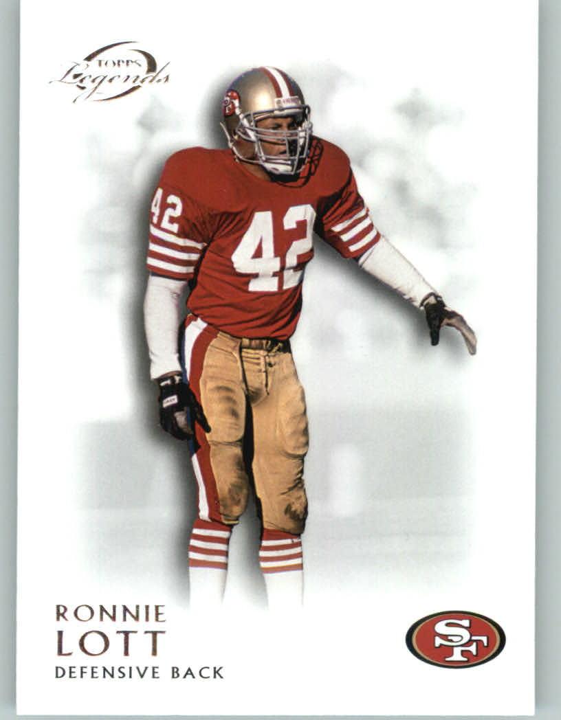 78602b6f4 Topps 2011 Topps Legends Football Card   72 Ronnie Lott - San Francisco  49ers - NFL Trading Card