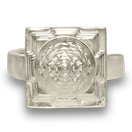 Shree-Yantra--Meru--Ring--in--Silver