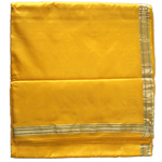 Yellow-Silk-Dhoti-with-Shawl
