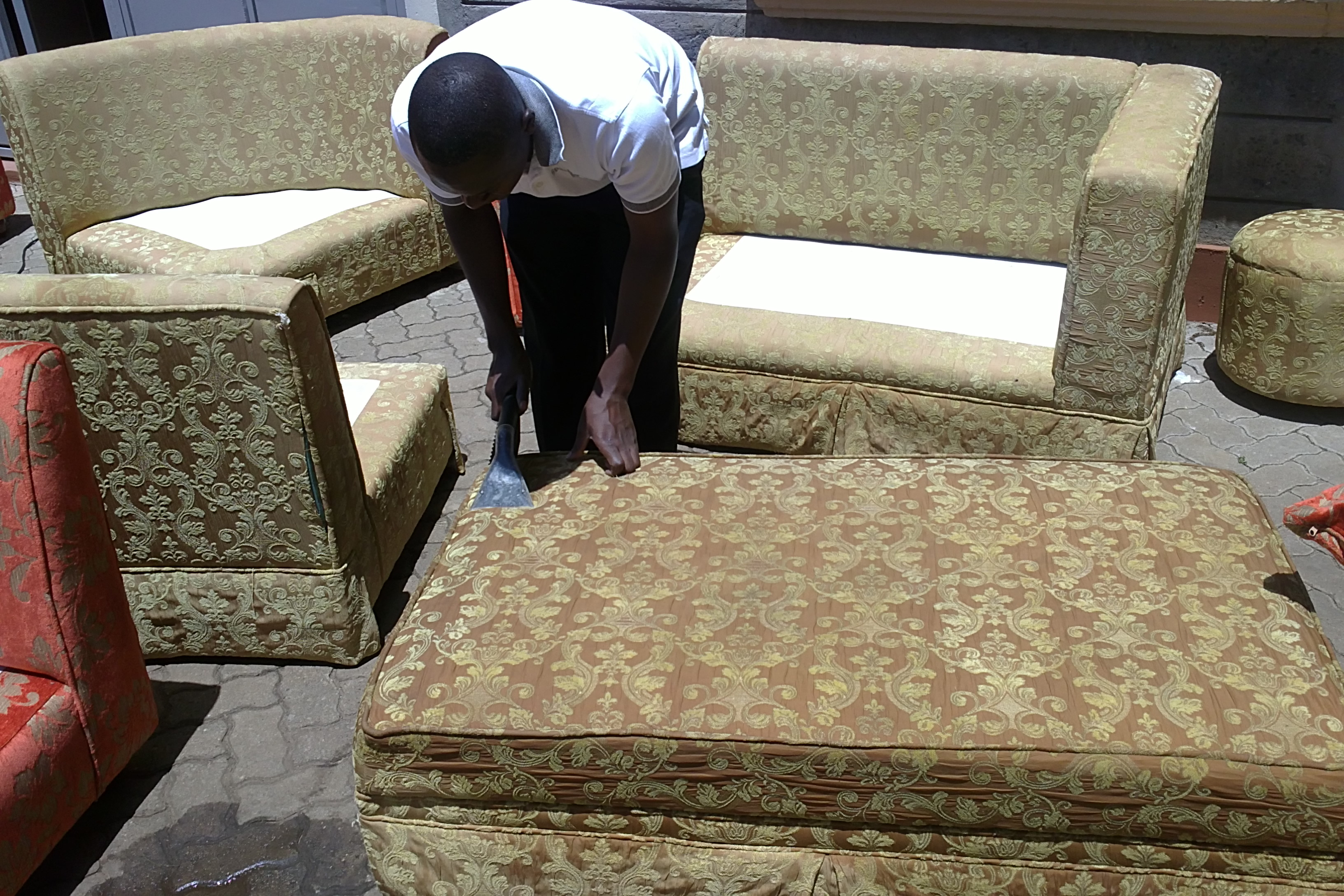 Carpet Upholstered Furniture Sofa Car Upholstery Interior Mattress Cleaning Services