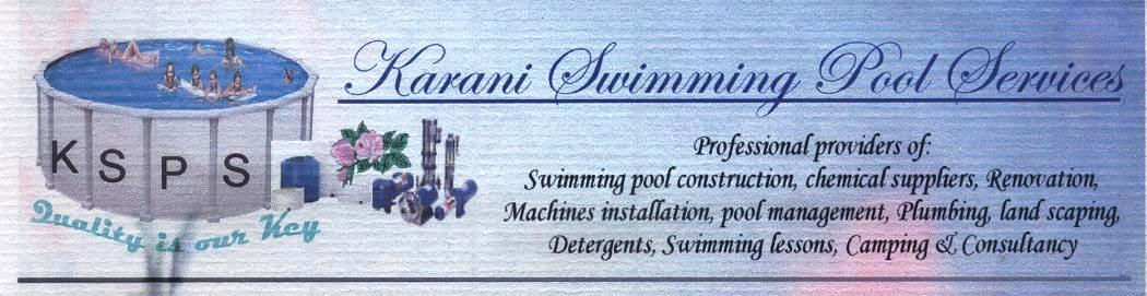 Karani Swimming Pools Services Nairobi
