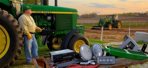 Add John Deere Attachments for just a few bucks a month!