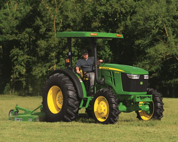 John Deere 5E Series vs Kubota MX