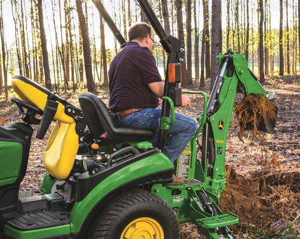 How To Remove A Tree Stump With A 1025R