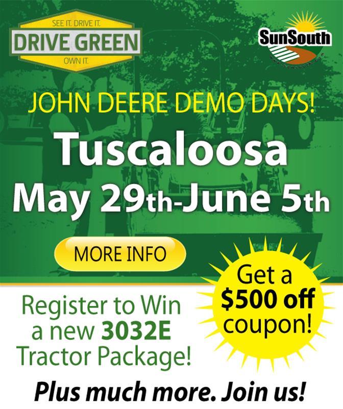 Drive Green Tuscaloosa
