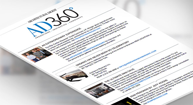 Sign Up for the AD360 e-Newsletter