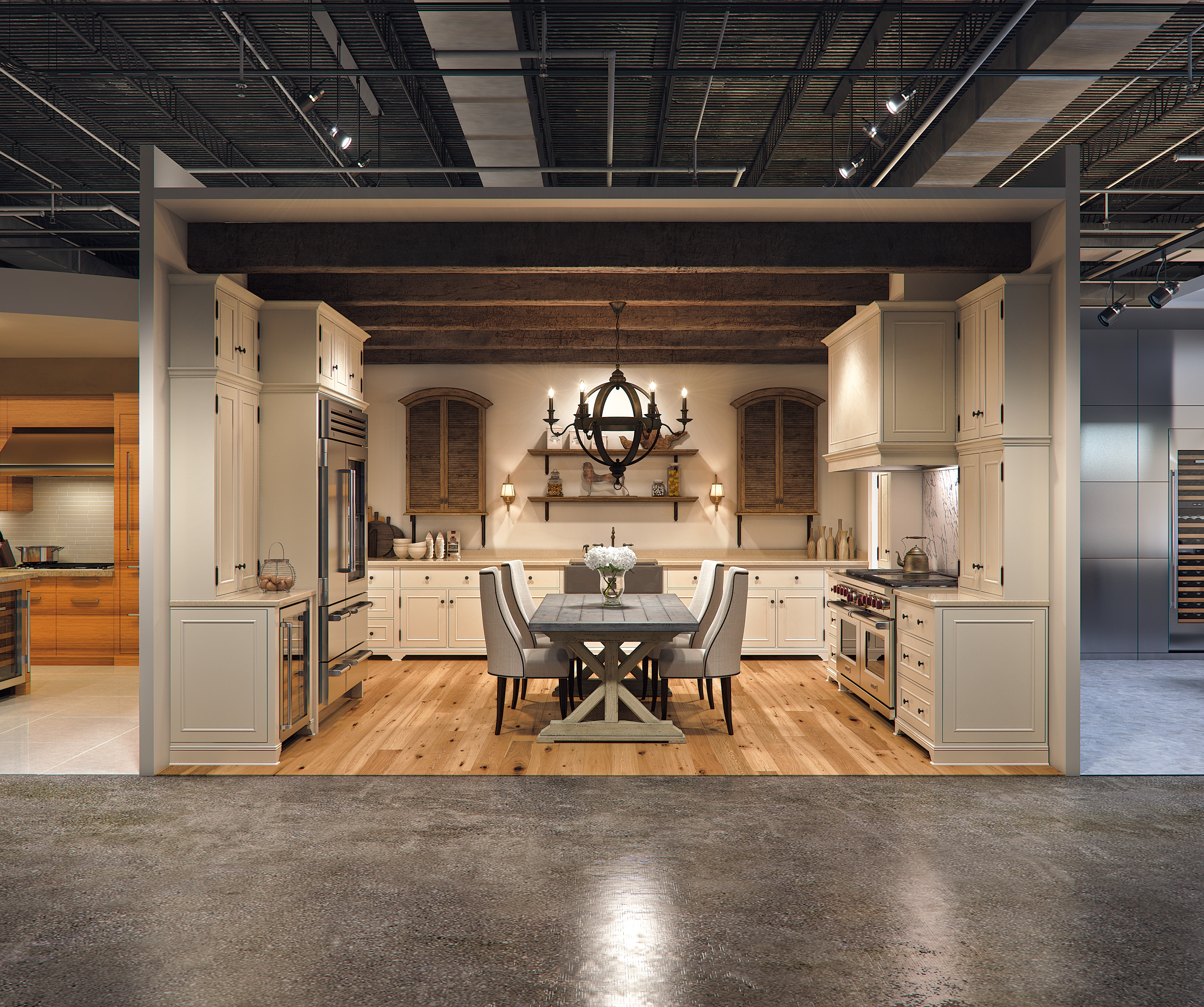 Kitchen Design Showrooms: Sub-Zero And Wolf Hands-on Showrooms