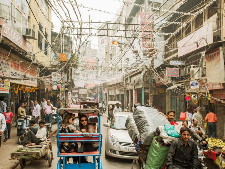 Chandni Chowk market in Delhi