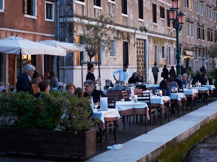 I Figli delle Stelle restaurant in Giudecca.