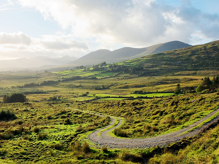 Ring of Kerry Road.