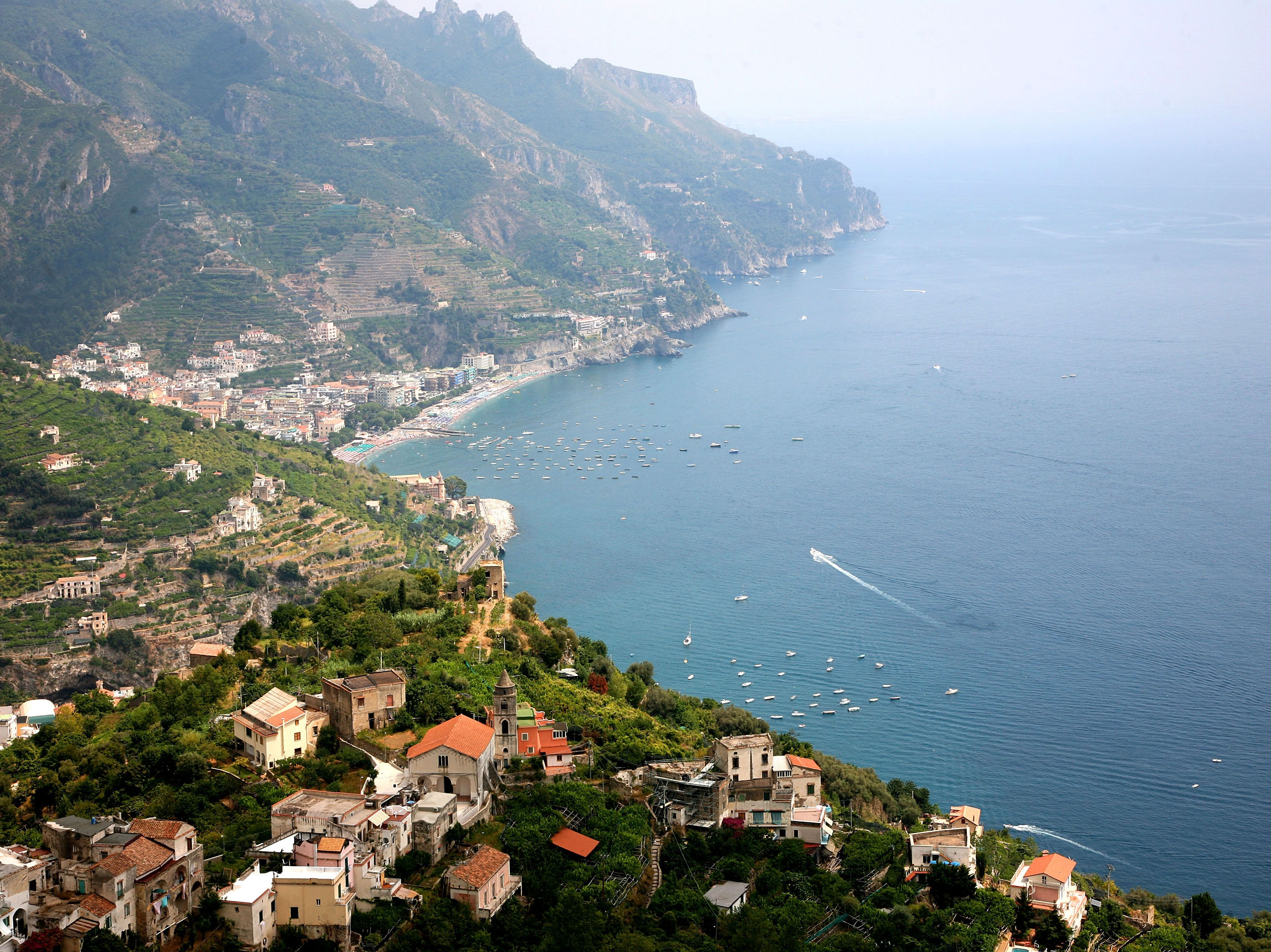 Ravello and the Amalfi Coast.