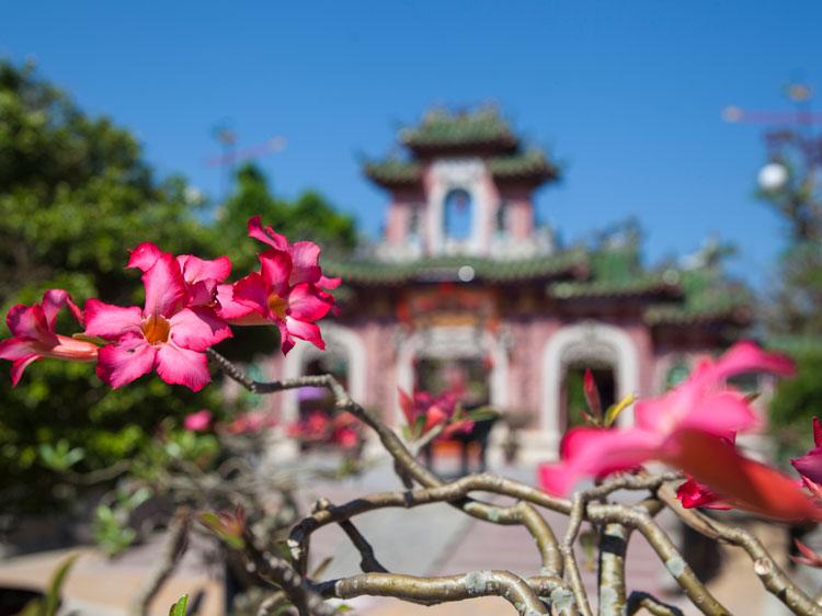 The historic city of Hoi An, Vietnam.