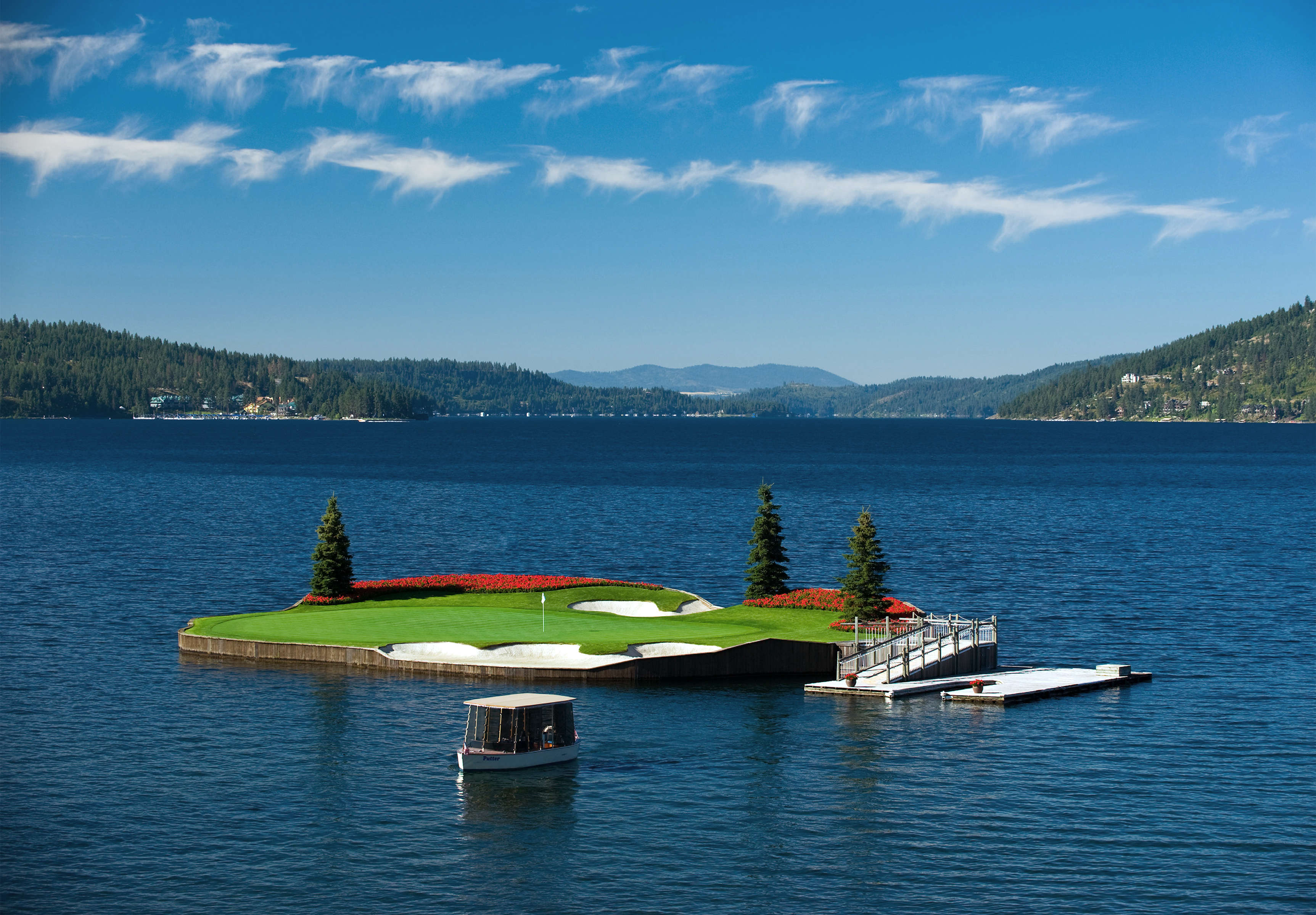 A Not-So-Secret Golf Destination, Coeur d' Alene, Idaho.