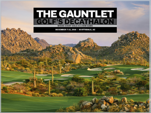 The Ultimate Golf Getaway: The Golf Digest Gauntlet
