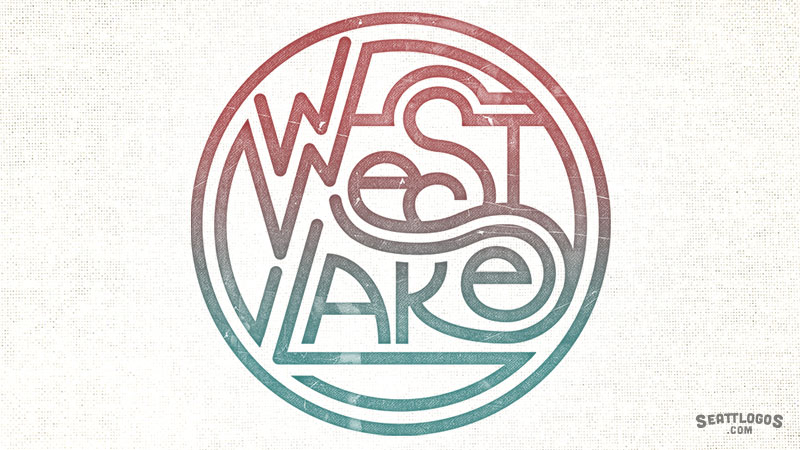 WESTLAKE by Seattlogos.com