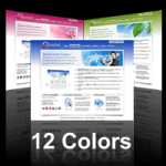 Colorful Skin (12 Colors) // SEO Menu // W3C Xhtml & CSS Validated DIV+CSS Skin // For DNN 4/ 5/ 6
