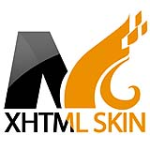 Marvelous Orange Color Xhtml W3C Standard Compliant Skin Pack For DNN6/5/4