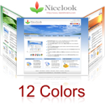 Nicelook Skin (12 Colors) // SEO Menu // W3C Xhtml & CSS Validated DIV+CSS Skin // For DNN 4/ 5/ 6