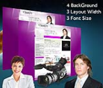 Cleanlily Purple W3C Vertical Skin Pack & FREE MGS Module & Portal Templates