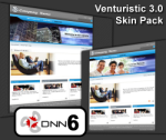 Venturistic Skin for DNN6 with two flash headers including flash sourcefiles