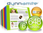 Dynamic W3C Skins 6.1 :: 12 Colours 