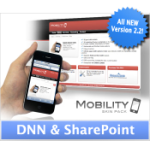 Mobility 2.2 Hot Red | DNN456 | SharePoint | Optimized for Mobile Devices